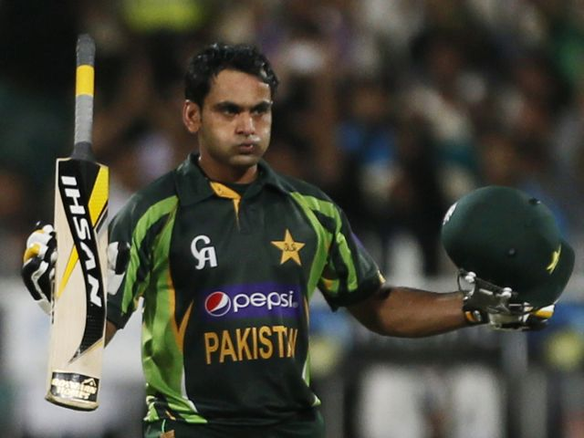 Hafeez: Starred with a knock of 140