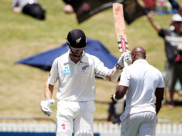 Williamson: Helped New Zealand to victory