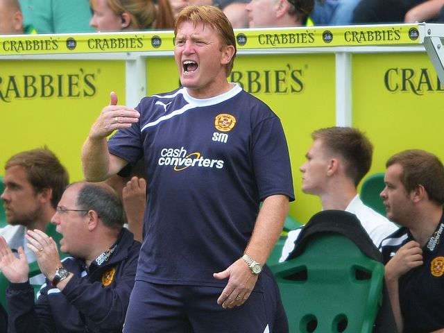 Stuart McCall: Fuming with penalty decision