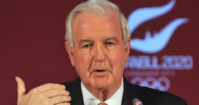 Sir Craig Reedie takes over as Wada president on New Year's Day