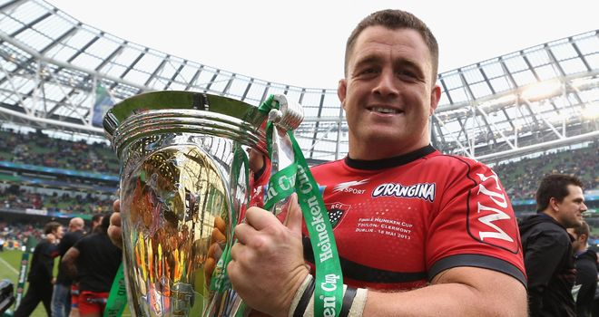 Andrew Sheridan: Won the Heineken Cup with Toulon last season