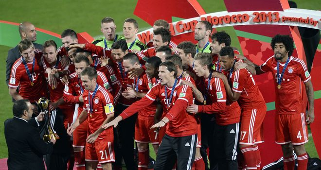 Bayern Munich: Receive the Club World Cup