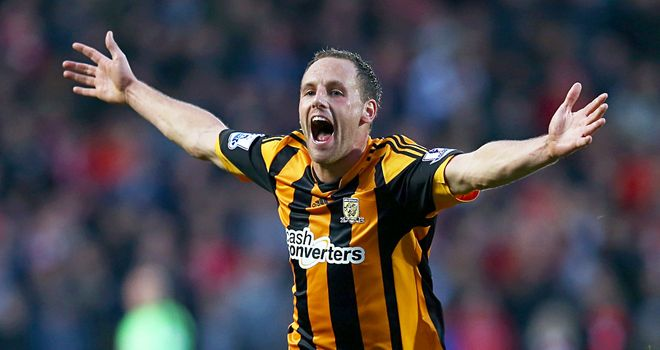 David Meyler: Played a key role as Hull City beat Liverpool for the first time ever