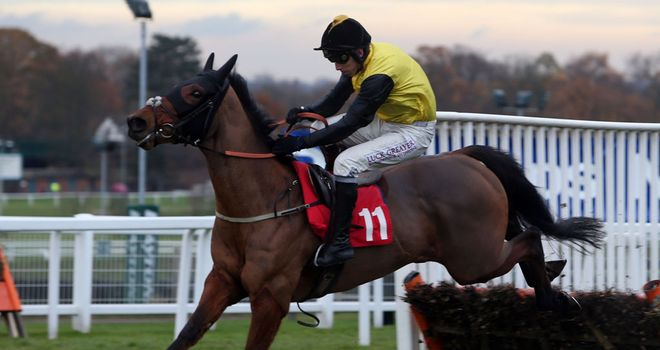 Deep Trouble: Set to miss the Tolworth for easier option