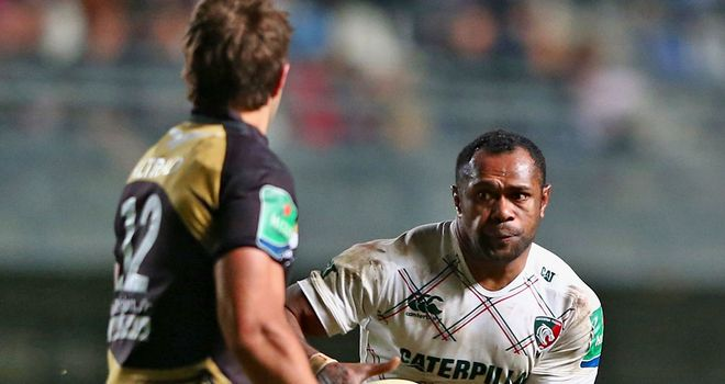 Leicester centre Niki Goneva's late try helped the English champions earn a vital away win