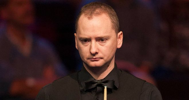 Graeme Dott: Former champion will not play in this year's Crucible showpiece