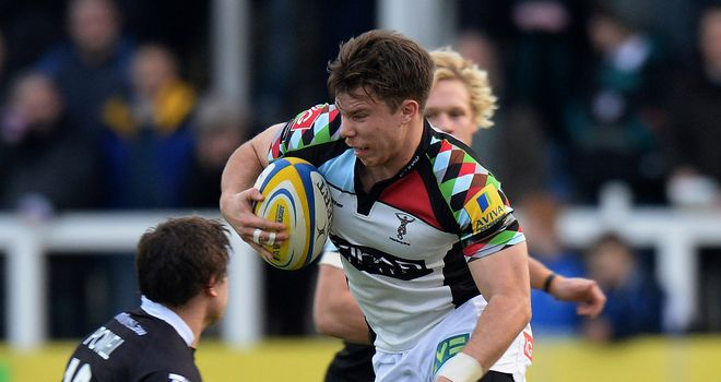 Sam Smith: scored two tries for Quins