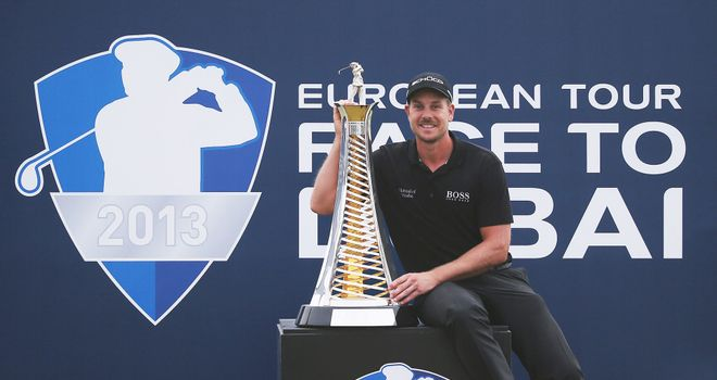 Henrik Stenson: Landed the Race To Dubai title last season