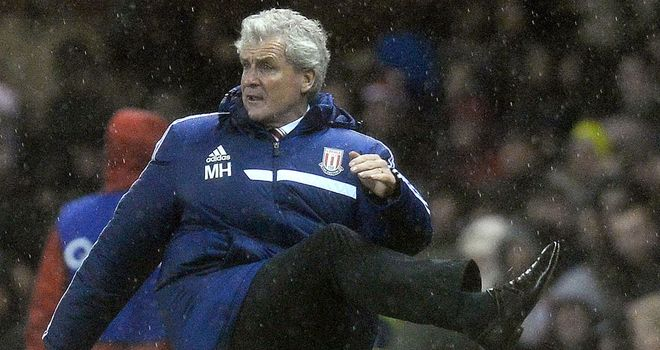 Mark Hughes: Saw Stoke crash out of the Capital One Cup in midweek