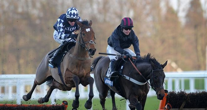Irving: Impressive winner at Ascot