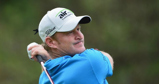 Jamie Donaldson: one-shot penalty at the 10th