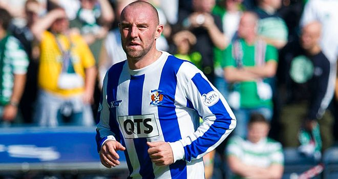 Two more goals for striker Kris Boyd