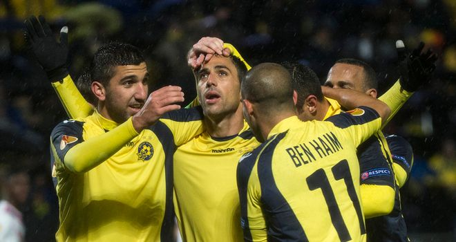 Maccabi Tel Aviv: Struggled to find a breakthrough