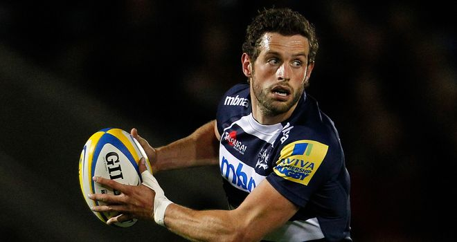 Nick Macleod: named at fly-half for Sale
