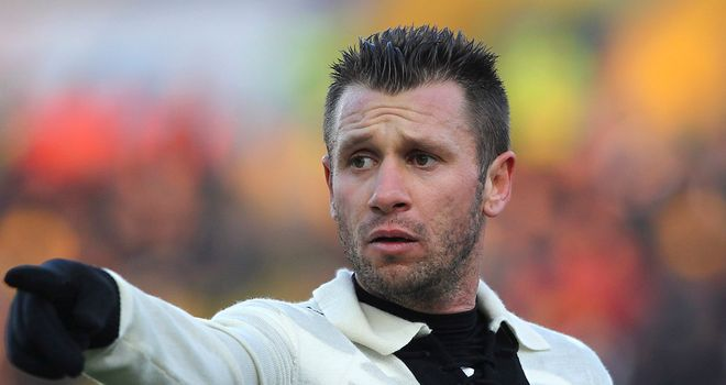Antonio Cassano was unable to find the net for Parma