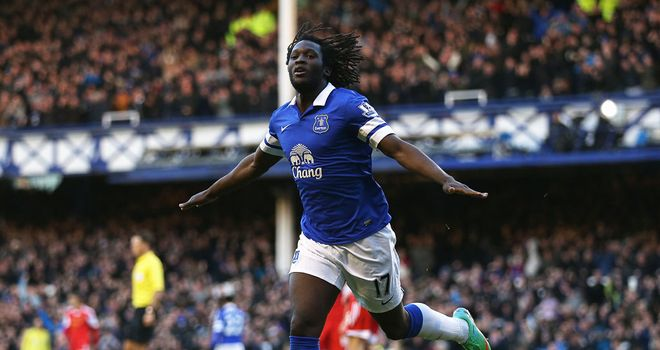 Romelu Lukaku: The striker bagged the winner against Southampton