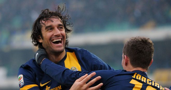 Luca Toni: Netted the only goal