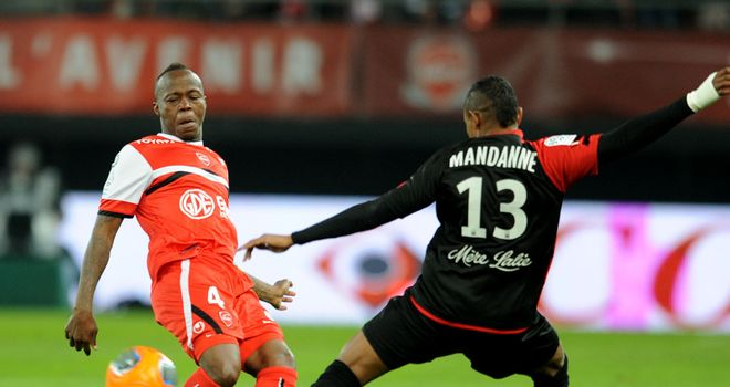 Younousse Sankhare in action for Guingamp