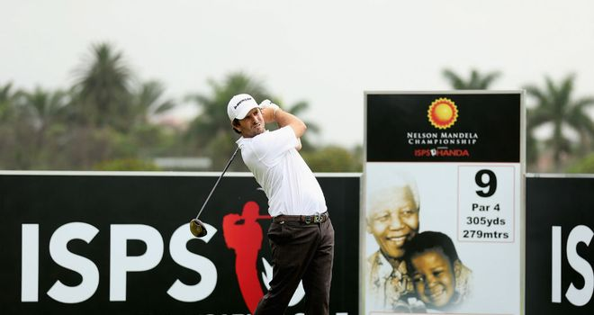 Thomas Aiken: Hoping to land the Nelson Mandela Championship this week