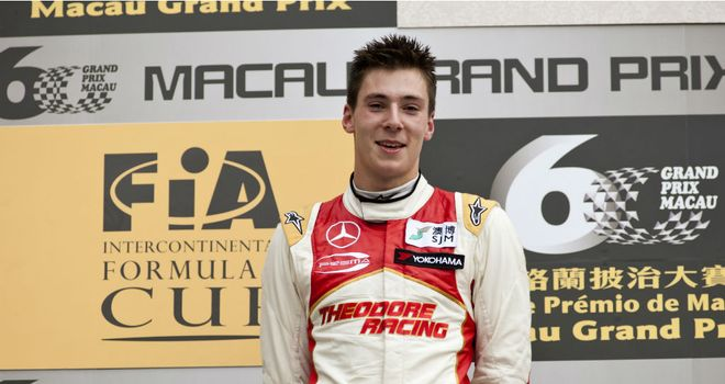 Alex Lynn has joined Red Bull's junior driver programme