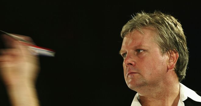 Rod Harrington: as he looked in his days on the oche