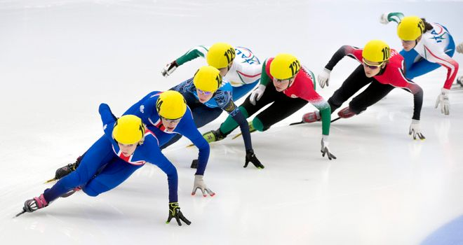 Elise Christie: Admitted that the expectations on her took some getting used to