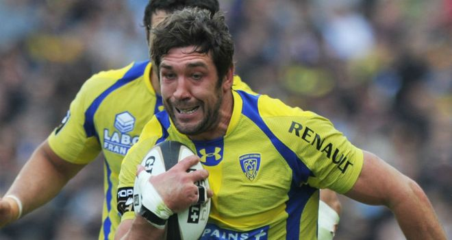 Nathan Hines: Will move from Clermont Auvergne to Sale at end of season