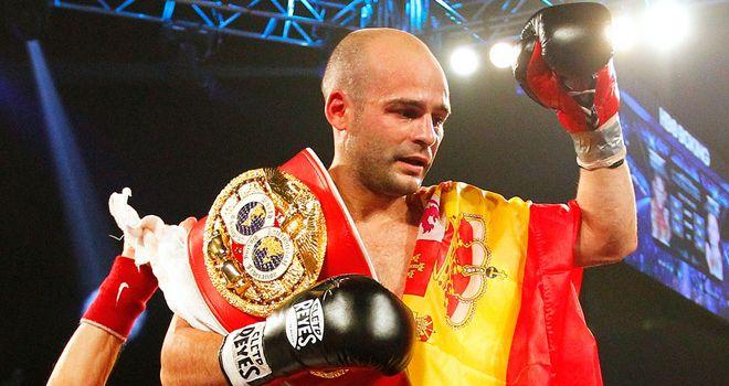 Kiko Martinez: Defended his IBF title by halting Jeffrey Mathebula