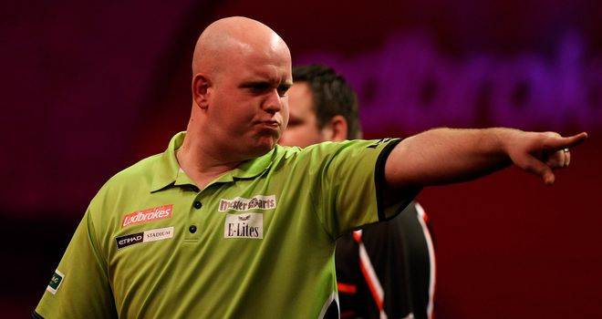 Michael van Gerwen: Must keep up the consistency to be World Champion.