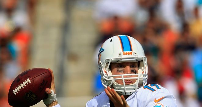 Ryan Tannehill: Miami Dolphins quarterback helped side earn first win over New England Patriots in eight attempts