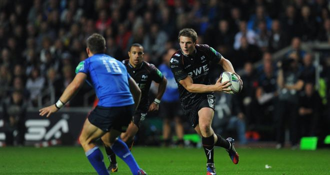 Dan Biggar: Ospreys fly-half pulled the strings
