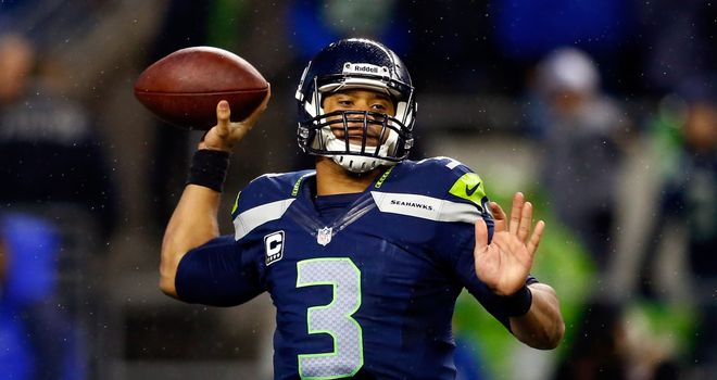 Seattle quarterback Russell Wilson is able to mix up the game