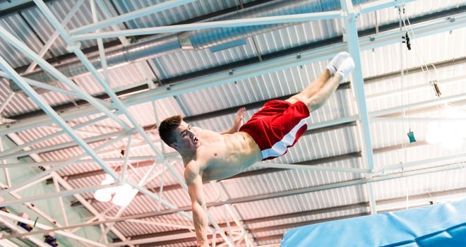 Sam Oldham: Closed in on a place at this summer's Commonwealth Games