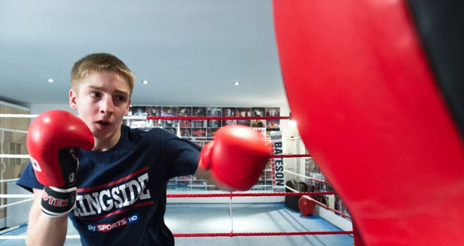 Jack Bateson: Hoping to impress with mentor Johnny Nelson