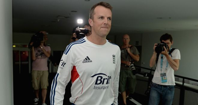 Graeme Swann: Backed by Monty Panesar