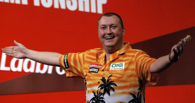 Wayne Mardle: has enjoyed some happy times on the Ally Pally stage