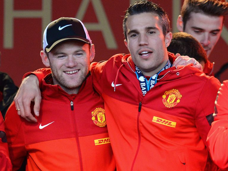Wayne Rooney and Robin van Persie: Will not face Chelsea