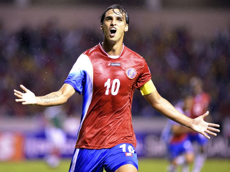 Bryan Ruiz: Part of Costa Rica's squad