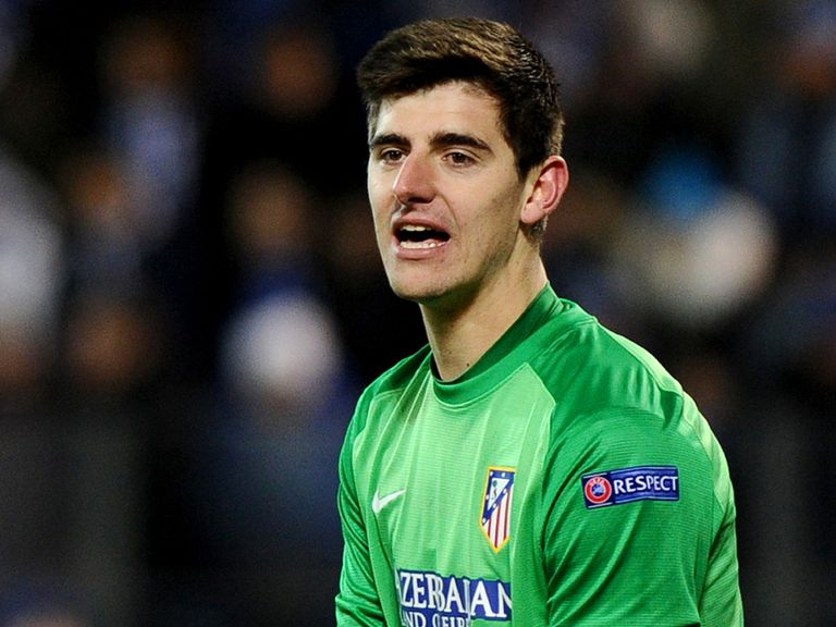 Thibaut Courtois: Hit back at Simon Mignolet