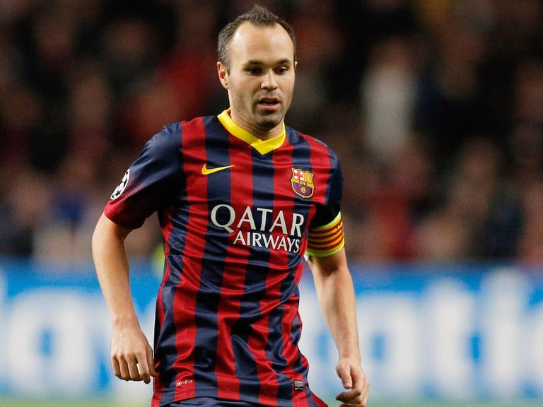 Andres Iniesta: No major worries for Barcelona