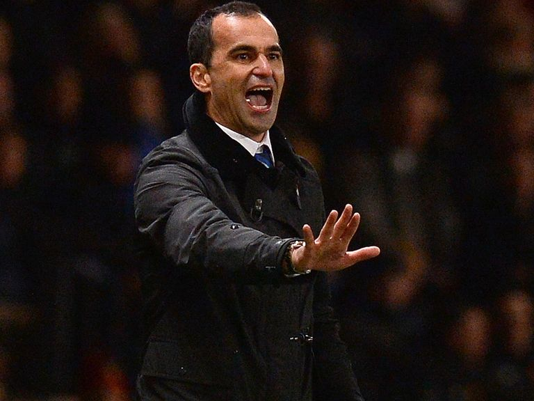 Roberto Martinez: Won't talk about Champions League places
