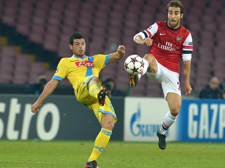 Flamini and Arsenal made it to the knockout stage