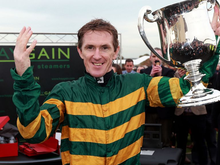 AP McCoy: Punters are backing him to win a second National