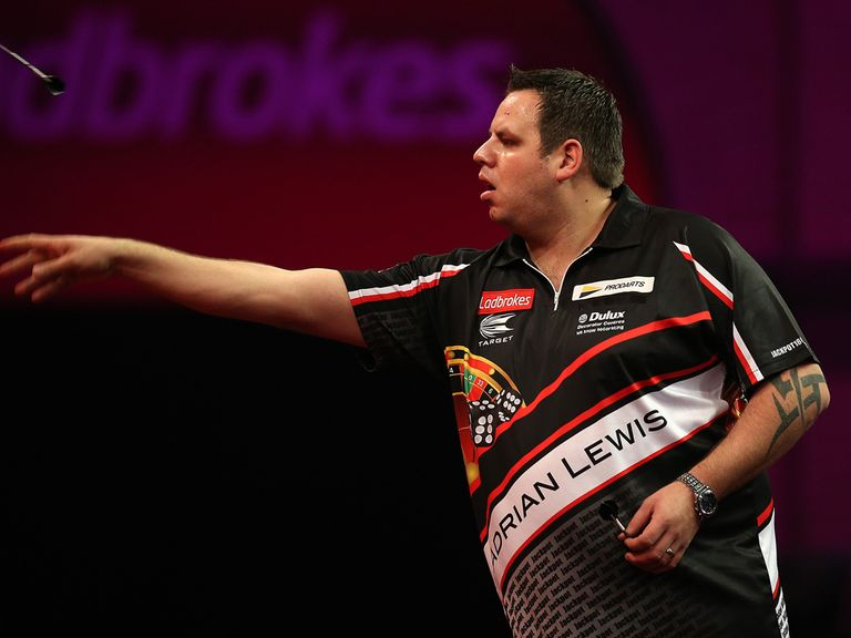 Adrian Lewis: Routine victory over Dennis Smith