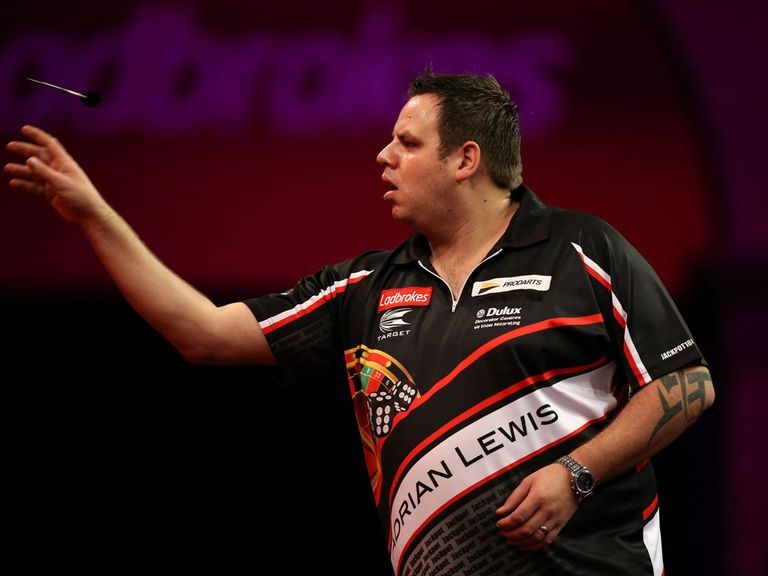 Adrian Lewis books his place in the third round