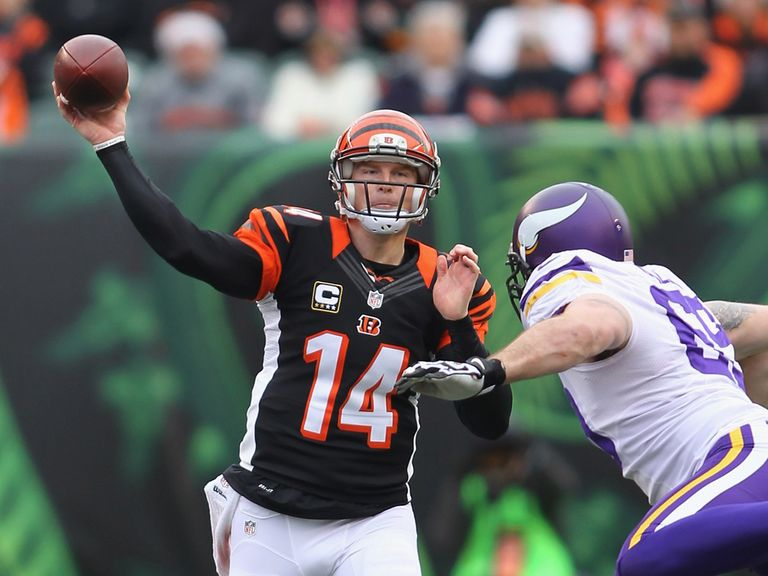 Andy Dalton in action for the Bengals