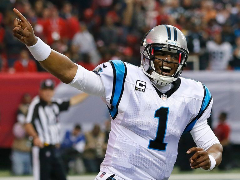 Cam Newton's Panthers will have home-field advantage in their first play-off