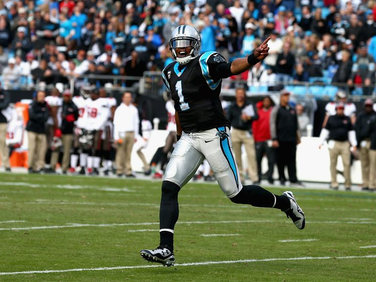 Cam Newton and Carolina made it eight in a row