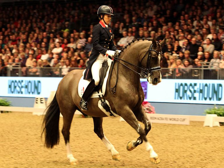 Charlotte Dujardin: Claimed a new world record