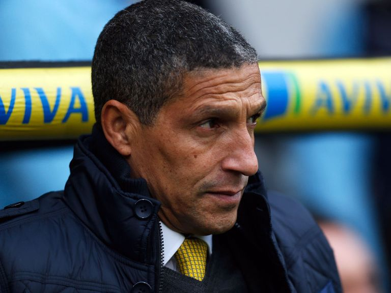 Chris Hughton: Coming under increasing pressure at Norwich